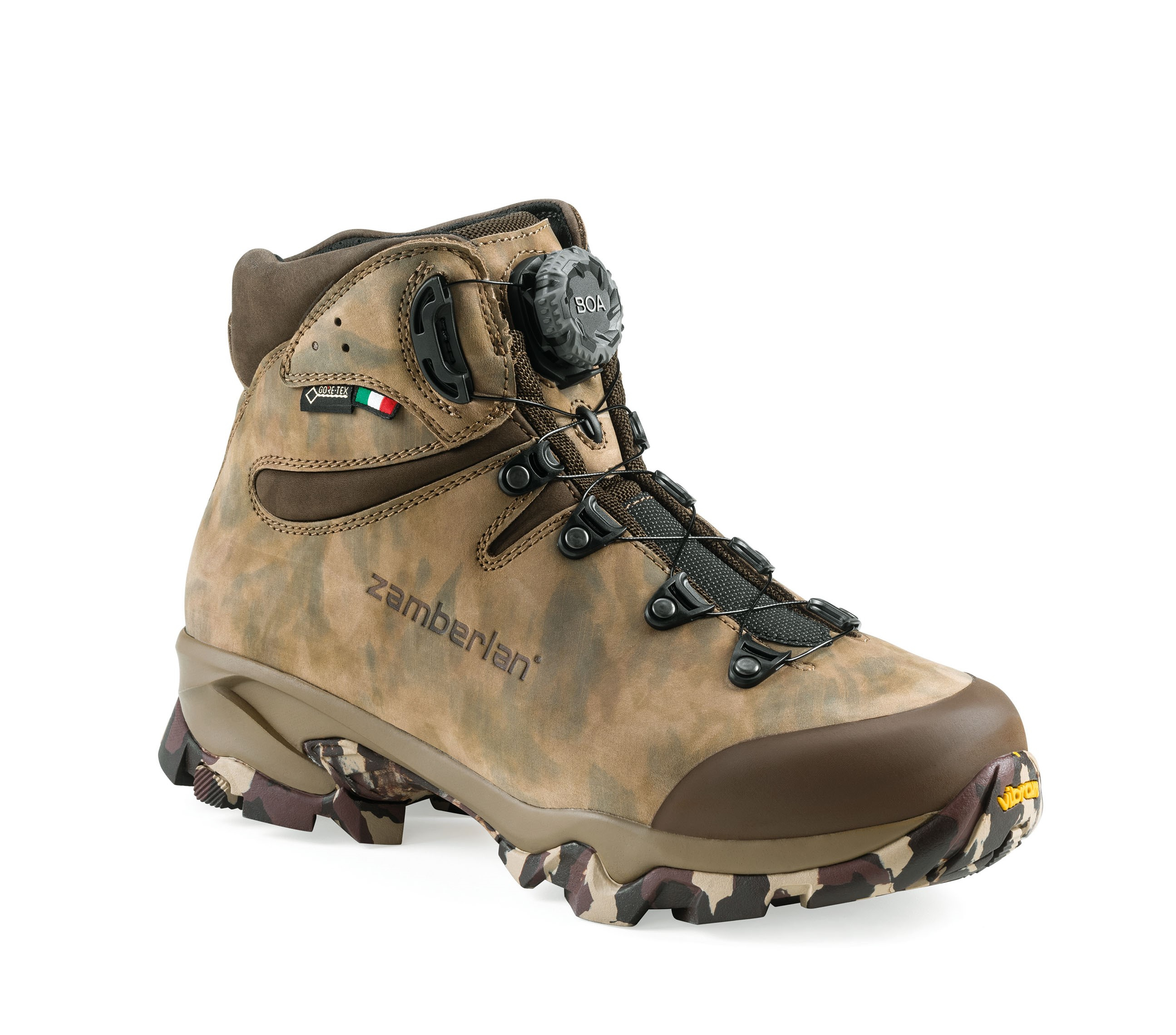 4013 LEOPARD GTX RR BOA - Bottes Chasse - Camouflage