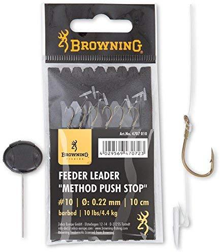 Browning Leader - Fermo a Pressione con Gancio 10cm