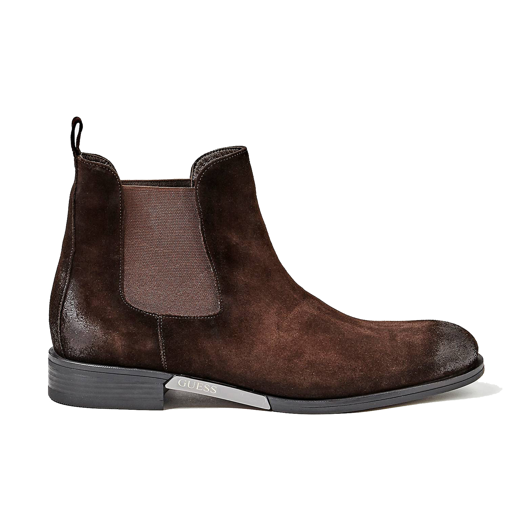 Stivaletto beatles marrone Guess