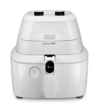 DeLonghi IdealFry FH2101 Friggitrice ad aria calda Singolo Bianco Stand-alone (placement)
