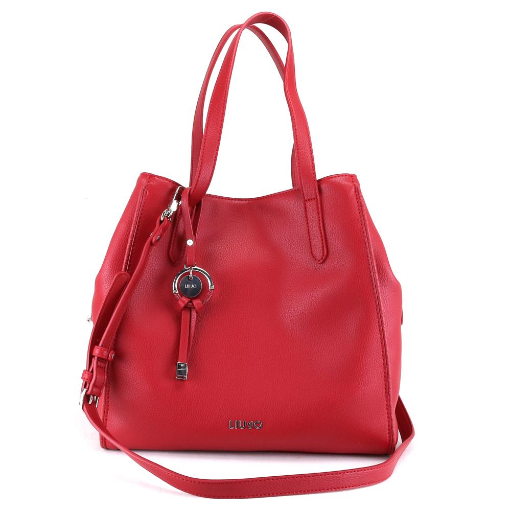 Hand and shoulder bag Liu Jo FLUIDA AA0085 E0221 CILIEGIA