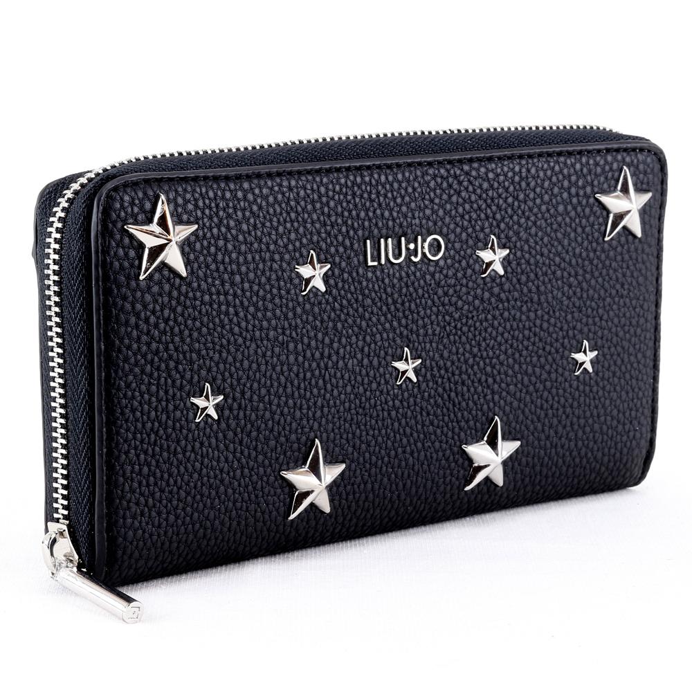 Portefeuille pour femme Liu Jo PREZIOSA STAR AA0214 E0058 NERO