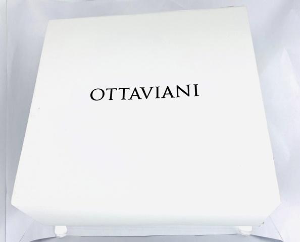 OTTAVIANI OROLOGIO DA TAVOLA IN CRISTALLO A FORMA DI CUORE