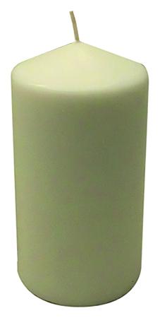 Cero mensa bianco Ø cm. 10 h. cm. 20
