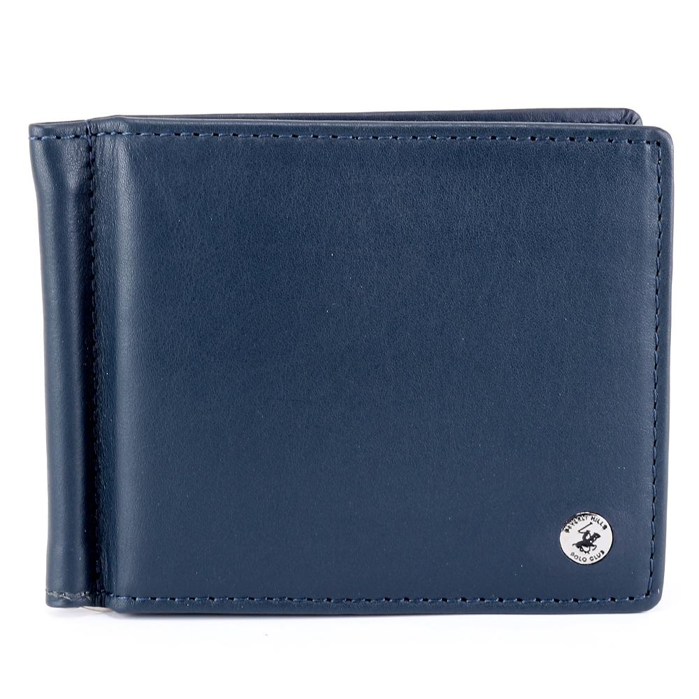 Man wallet Beverly Hills Polo Club CLASSIC BH-932 BLU