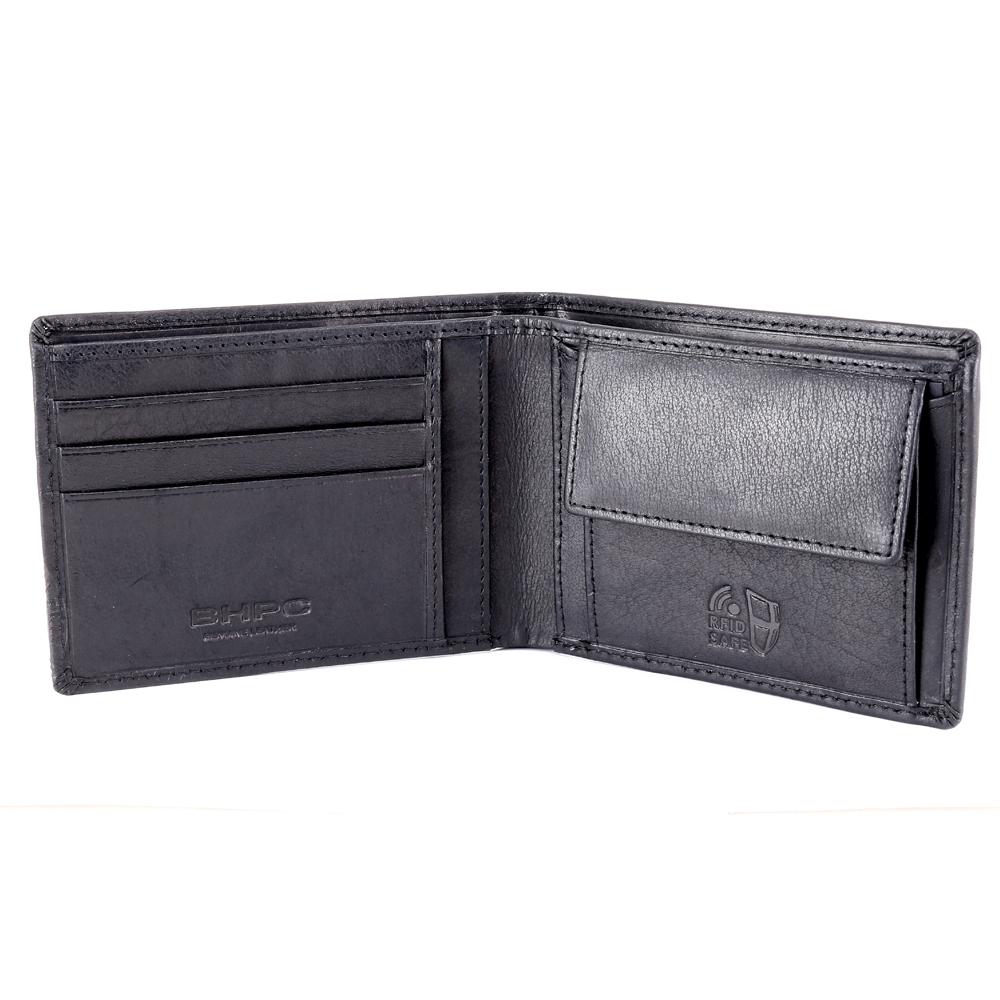 Man wallet Beverly Hills Polo Club CIRCLE BH-1192 NERO
