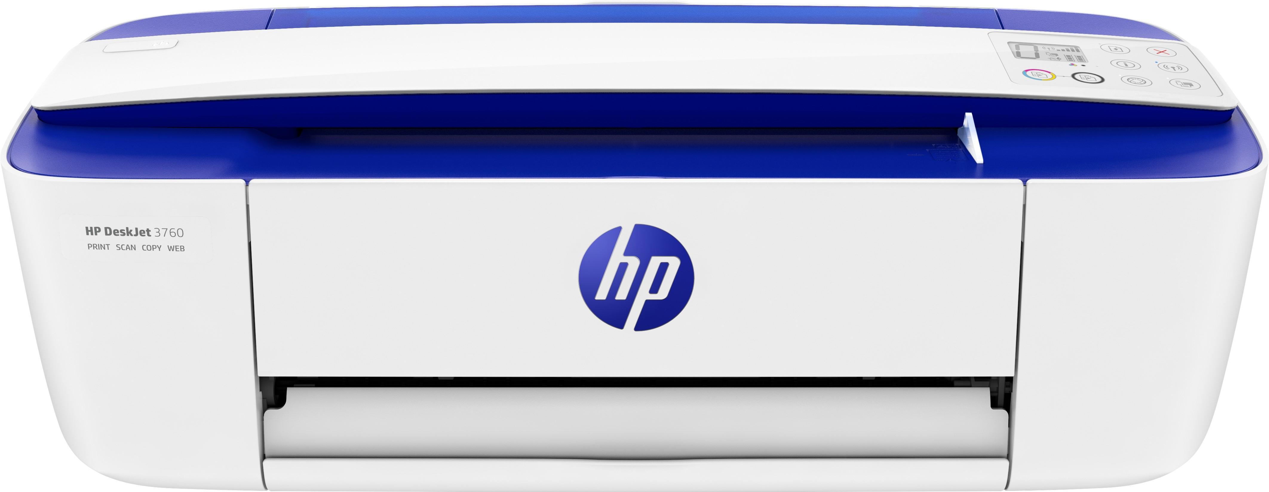 HP DeskJet 3760 Getto termico d'inchiostro 19 ppm 1200 x 1200 DPI A4 Wi-Fi