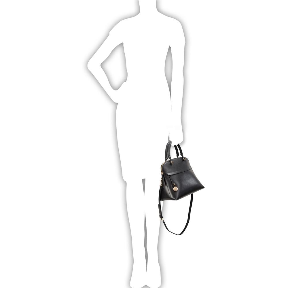 Hand and shoulder bag  Furla Piper 783291 ONYX