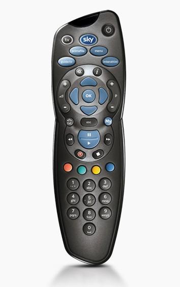 Sky SKY715 telecomando IR Wireless Sistema Home cinema, TV, Set-top box TV Pulsanti