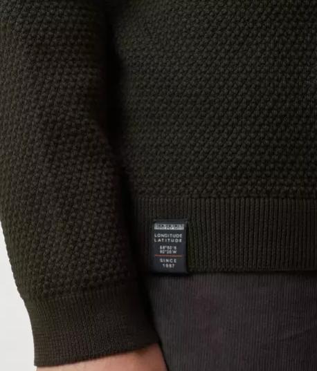 Maglione uomo NAPAPIJRI DRUENO con zip