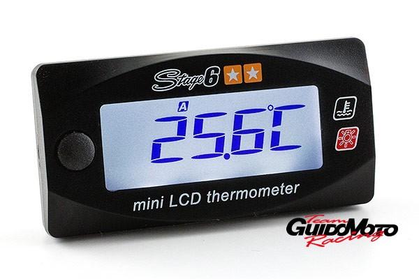 S6-4034 TERMOMETRO STAGE6 MINI LCD DIGITALE DOPPIA TEMPERATURA  0-120°