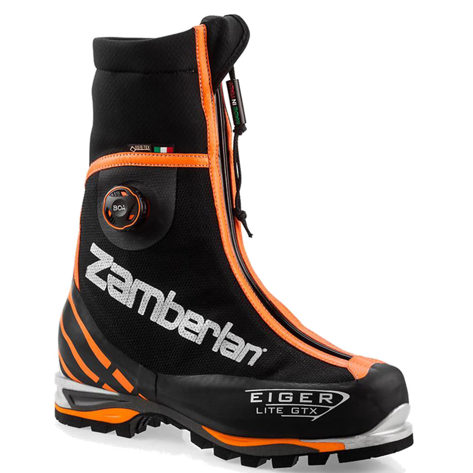 3030 EIGER LITE GTX® RR BOA®    -   Men's Mountaineering  Boots   -   Black/Orange