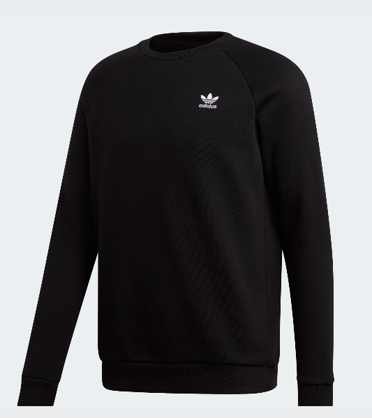 Felpa uomo ADIDAS ORIGINALS Essential girocollo