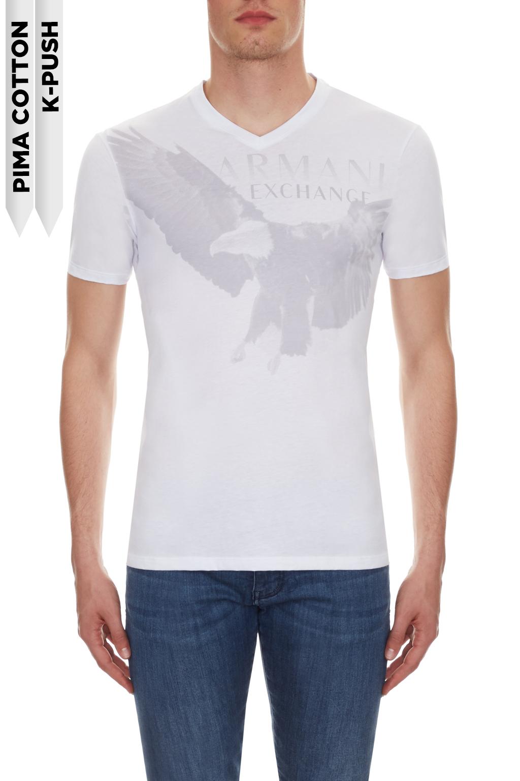 T-shirt uomo stampa aquila ARMANI EXCHANGE