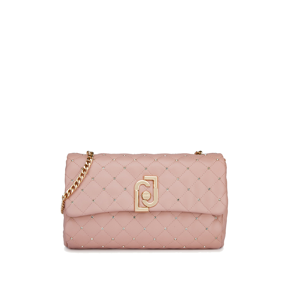M CROSSBODY - Lj Bag - colore cameo rose - LIU JO