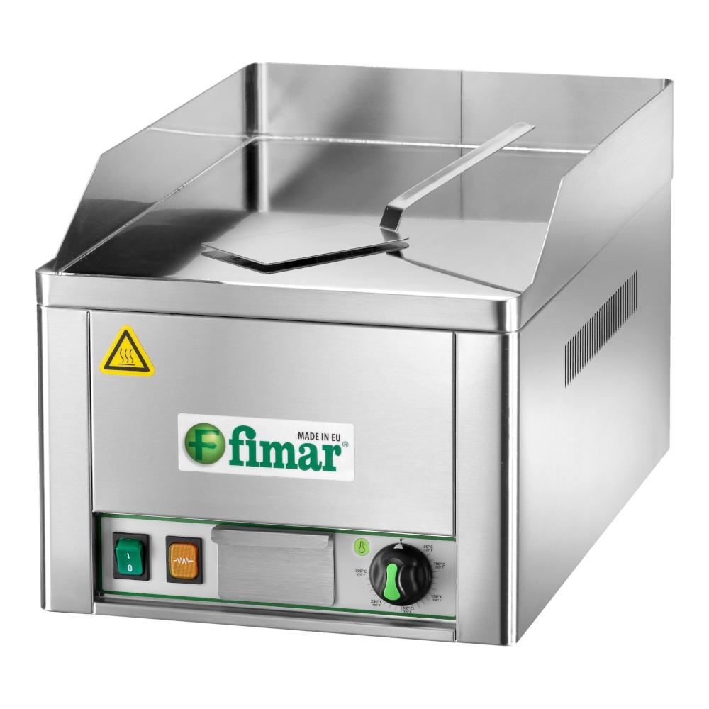 Fry Top Elettrico Singolo Fimar Liscio Cromato 230 V