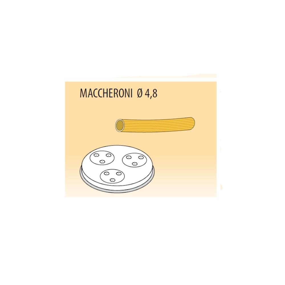Trafila Macchina Pasta Fresca PF e MPF - Maccheroni ø4.8