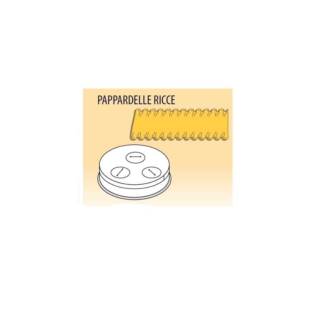 Trafila Macchina Pasta Fresca PF e MPF - Pappardelle Ricce