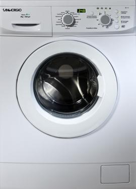 SanGiorgio SES710D lavatrice Libera installazione Caricamento frontale Bianco 7 kg 1000 Giri/min A++