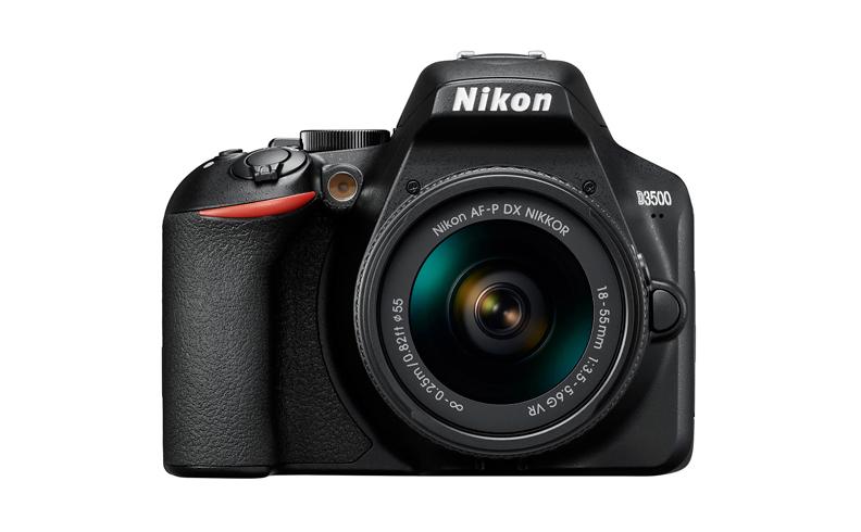 Nikon D3500 + AF-P 18-55mm VR Kit fotocamere SLR 24,2 MP CMOS 6000 x 4000 Pixel Nero