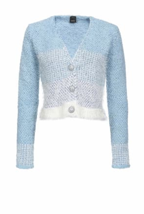 SHOPPING ON LINE PINKO CARDIGAN CORTO AGONE NEW COLLECTION WOMEN'S SPRING SUMMER 2020