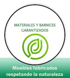 materiales y barnizes guarantizados