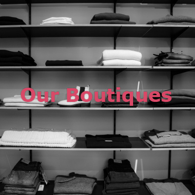 Discover our boutiques