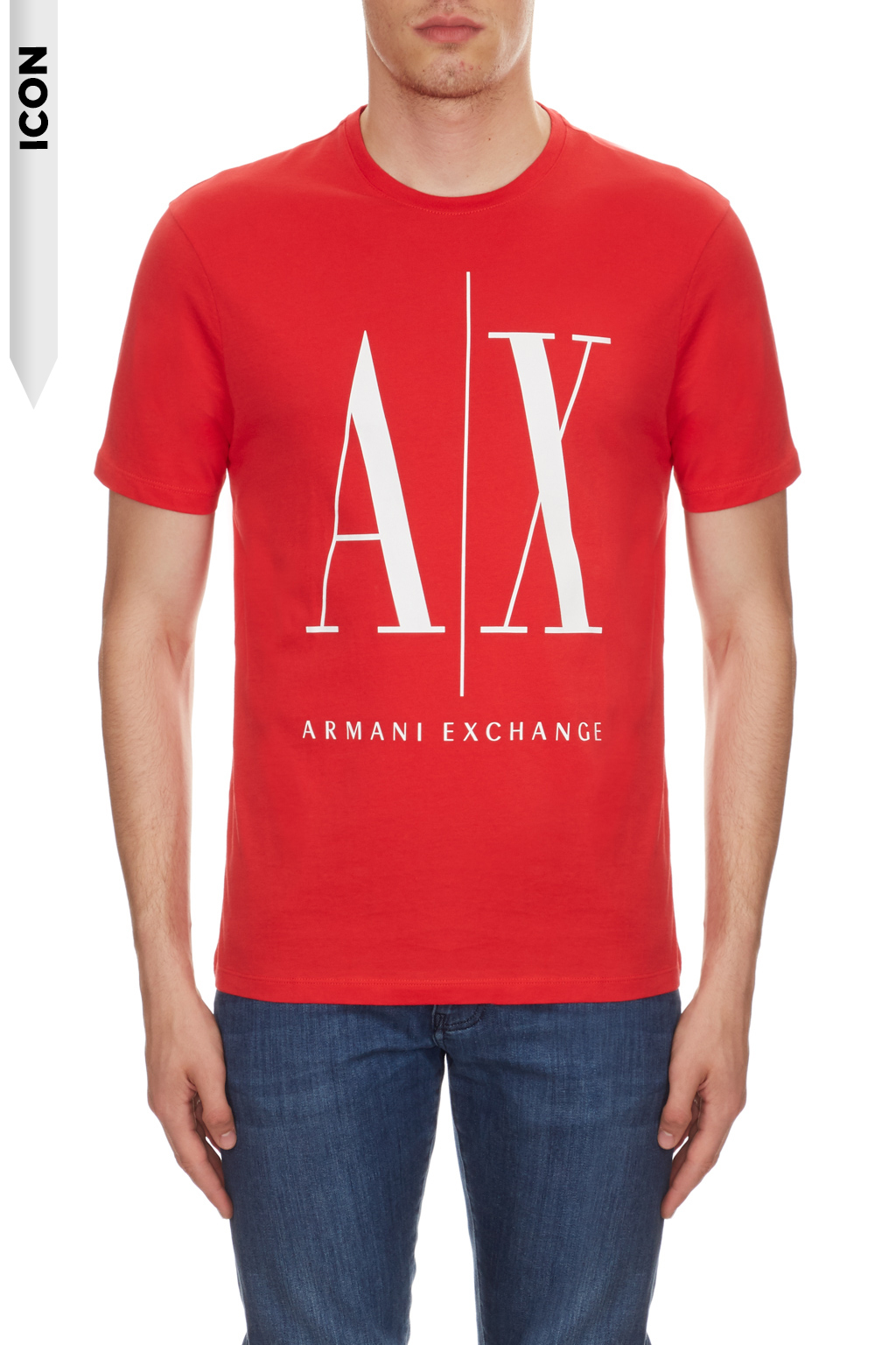 T-shirt manica corta uomo ARMANI EXCHANGE icon A/X