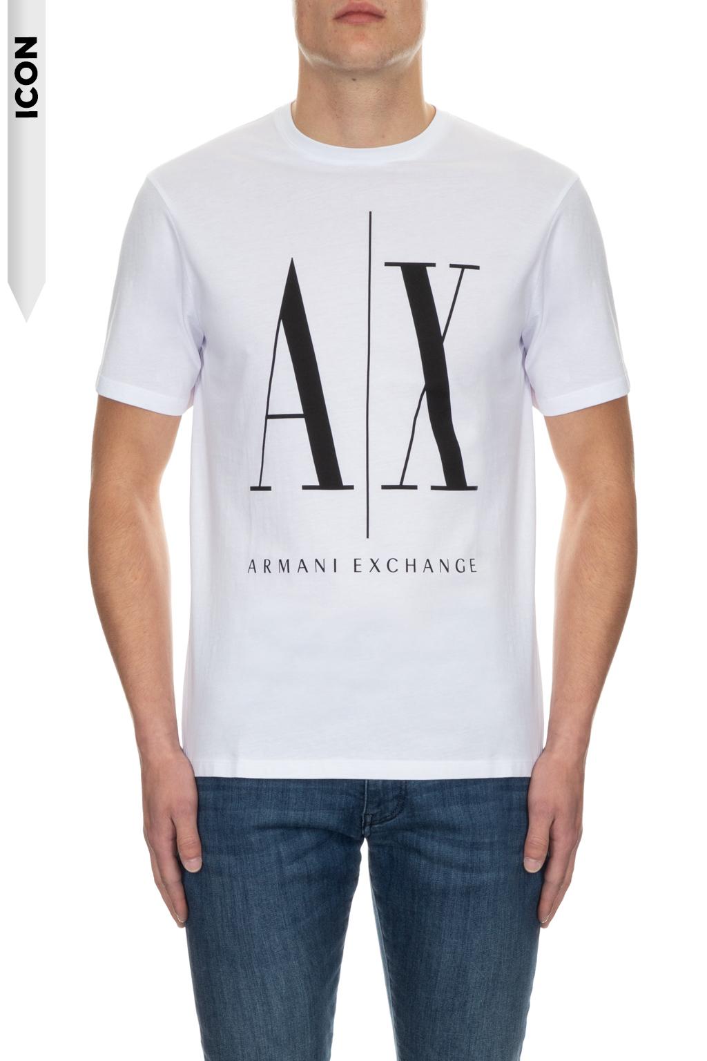 T-shirt manica corta uomo ARMANI EXCHANGE icon A/X