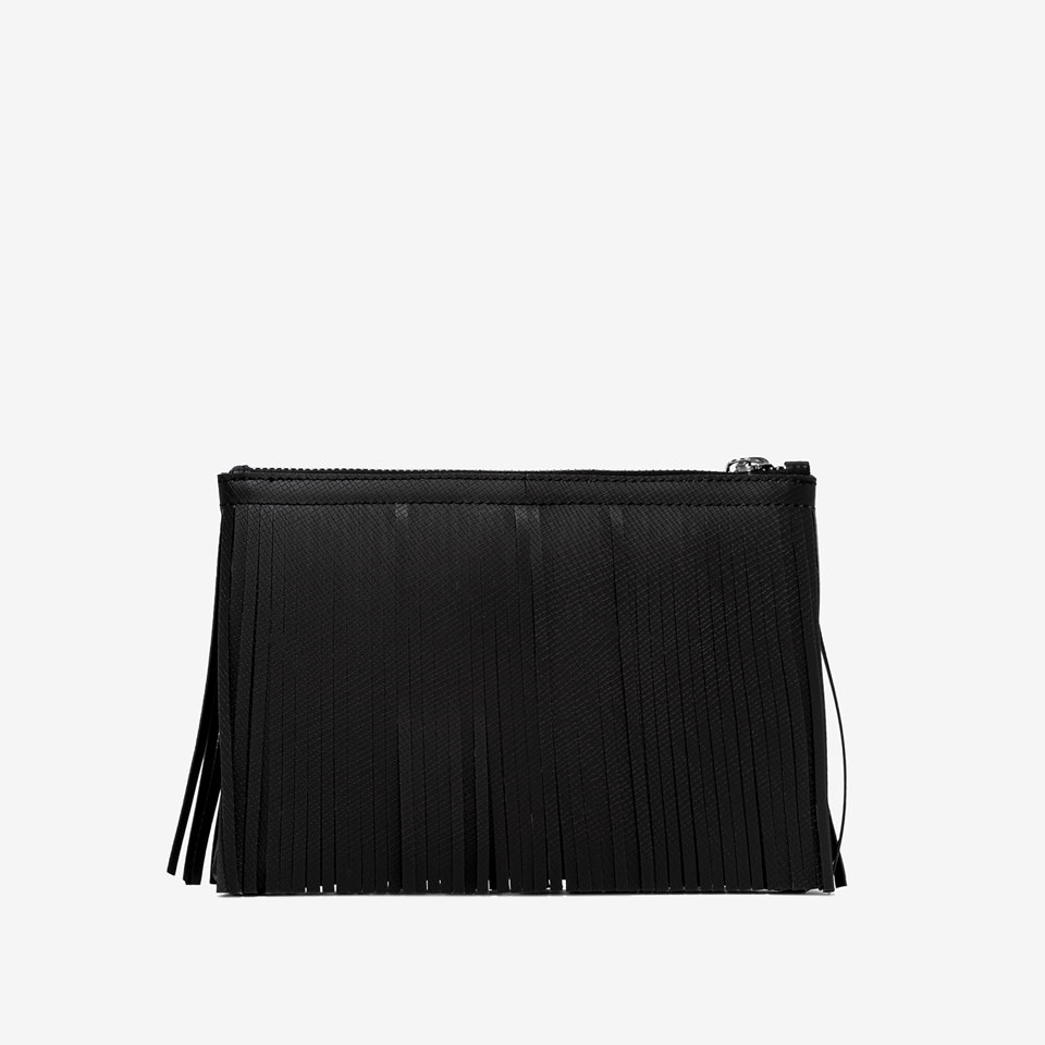 SHOPPING ON LINE POCHETTE GUM POCHETTE NUMBERS MEDIA NERO-BRONZO-ARGENTO NEW COLLECTION WOMEN'S SPRING SUMMER 2020