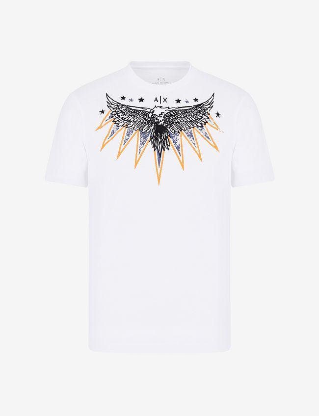 T-shirt manica corta uomo disegno aquila ARMANI EXCHANGE