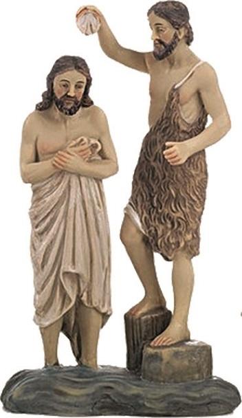 Battesimo di Gesù cm. 20