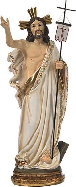Cristo risorto cm. 14,5