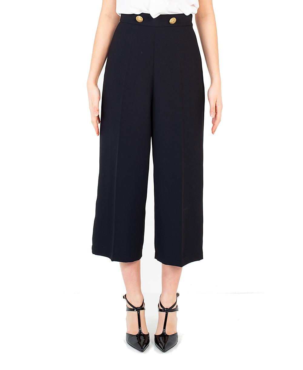 Pantalone Elisabetta Franchi PA05401E2 110NERO  -19