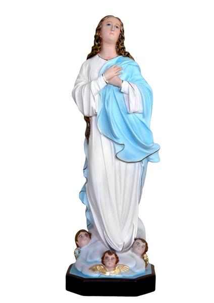 Madonna Assunta del Murillo in rersina cm. 88
