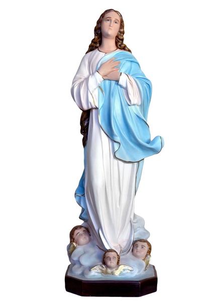 Madonna Assunta del Murillo in rersina cm. 100
