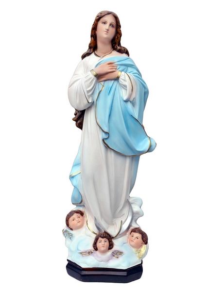 Madonna Assunta del Murillo in rersina cm. 60