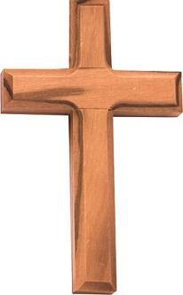 Croce in legno di ulivo Prima Comunione