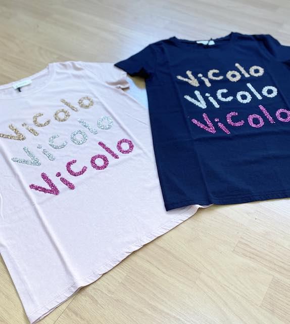 T-shirt Vicolo stampe Vicolo in Paillettes