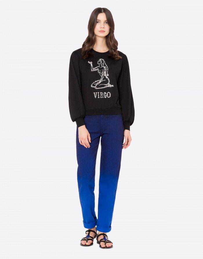 T-shirt manica lunga Virgo Alberta Ferretti