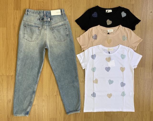 T-shirt Vicolo Cuori 3 colori