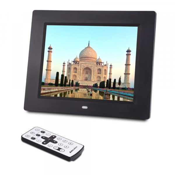 MAJESTIC DIGITAL PHOTO FRAME 8'' LED DF938MP3