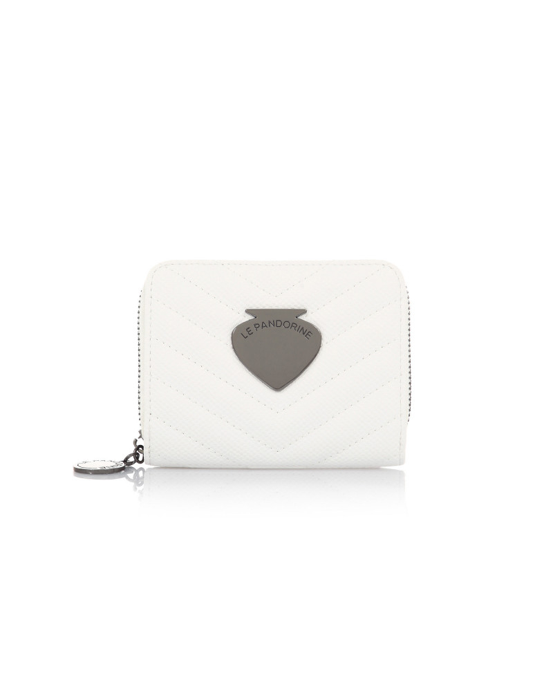 SHOPPING ON LINE  LE PANDORINE VICKY WALLET LOVE WHITE NEW COLLECTION WOMEN'S SPRING SUMMER 2020