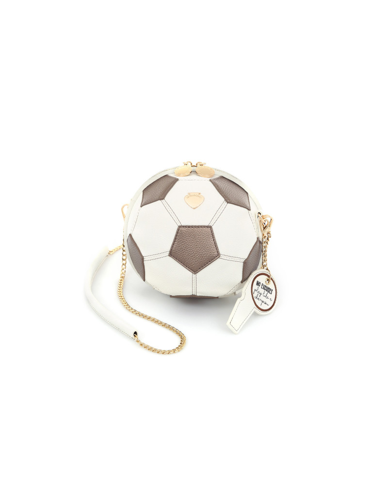 SHOPPING ON LINE LE PANDORINE SOCCER BAG CHAMPION OFF-WHITE NEW COLLECTION WOMEN'S SPRING SUMMER 2020