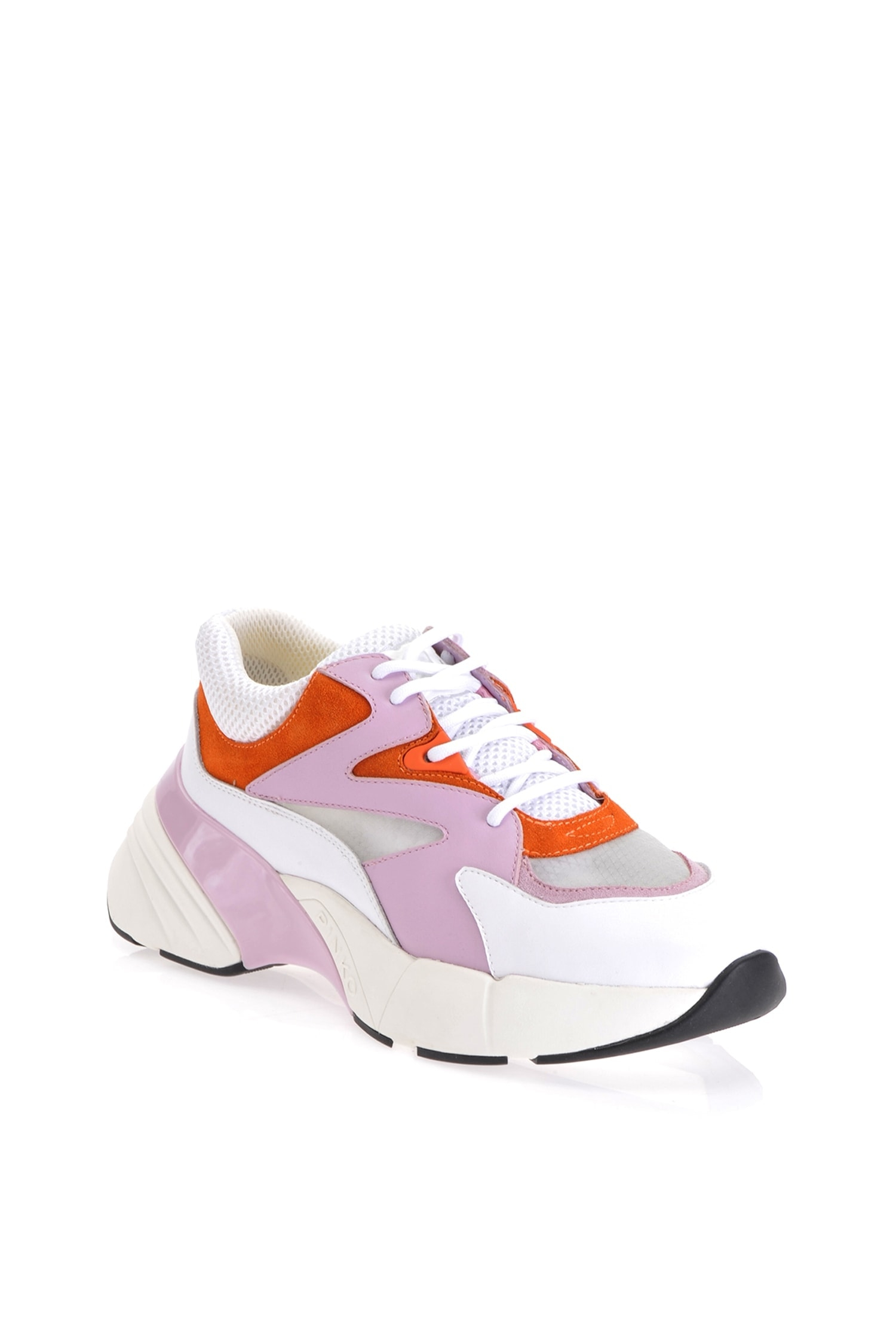 SHOPPING ON LINE PINKO SNEAKERS OVERSIZE SNEAKERS IN PELLE MAGGIORANA 2  NEW COLLECTION WOMEN'S SPRING SUMMER 2020