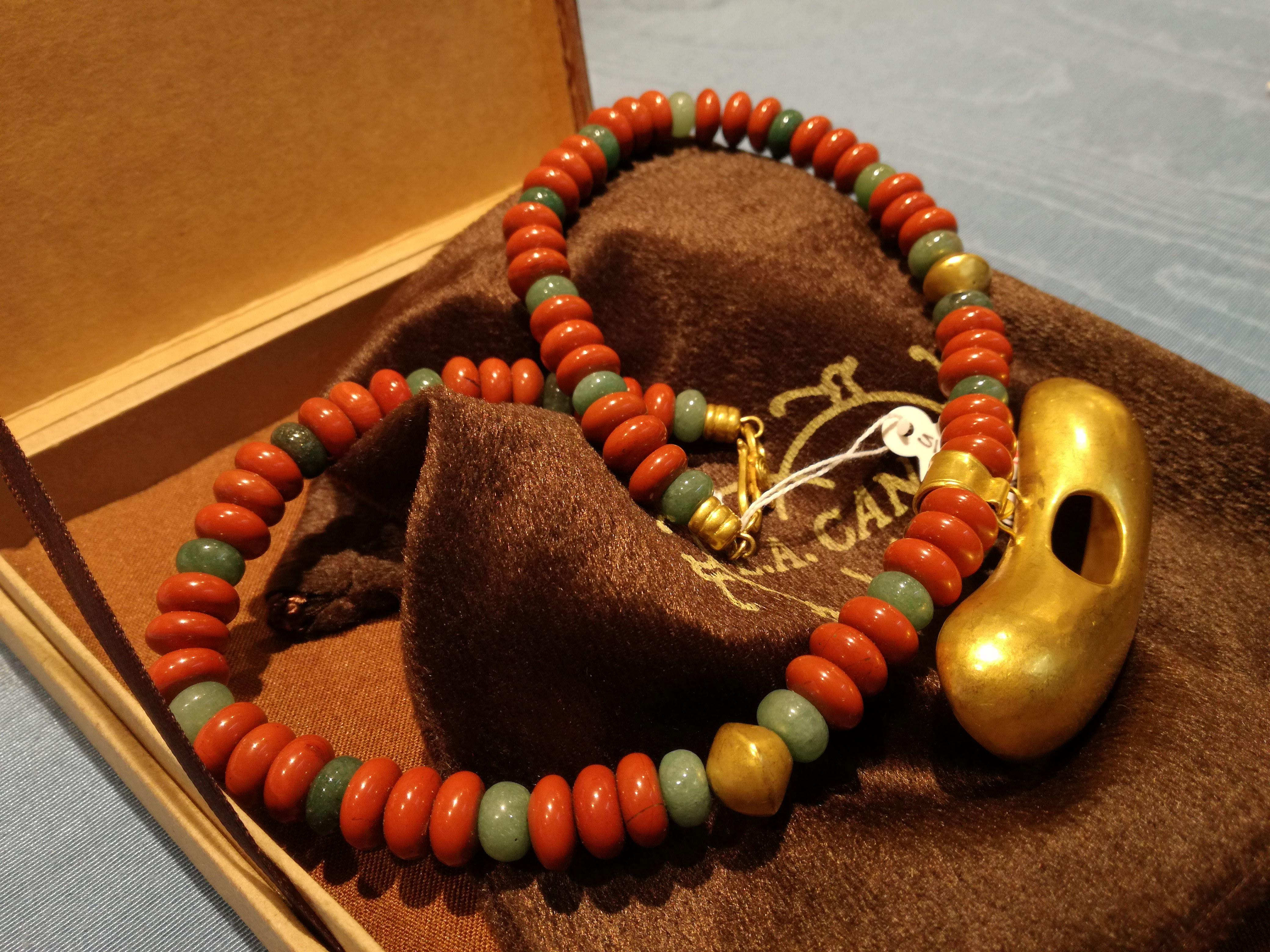 Collana in oro Luis Alberto Cano