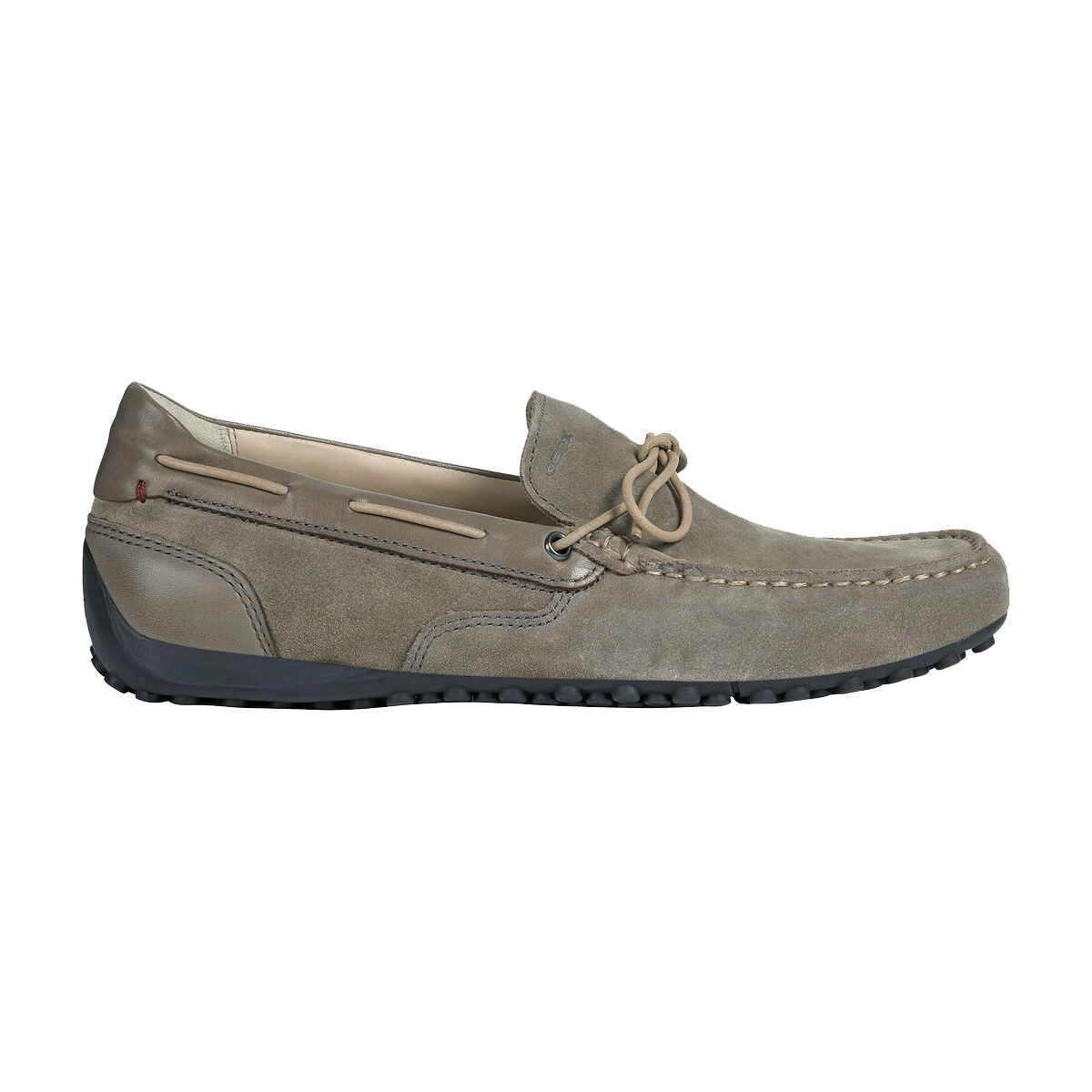 MOCASSINO U SNAKE IN SUEDE