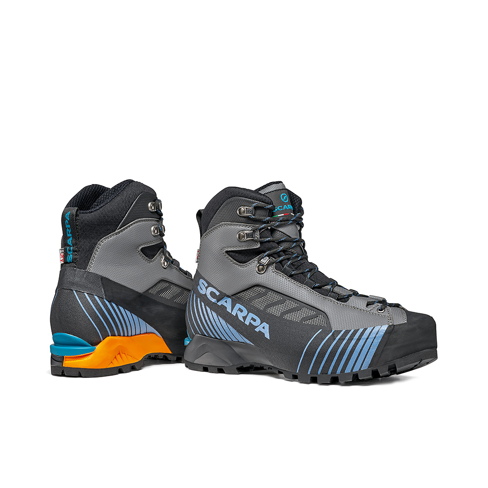RIBELLE LITE HD   -   Alpinismo tecnico veloce, vie ferrate e backpacking   -   Iron Gray-Ocean