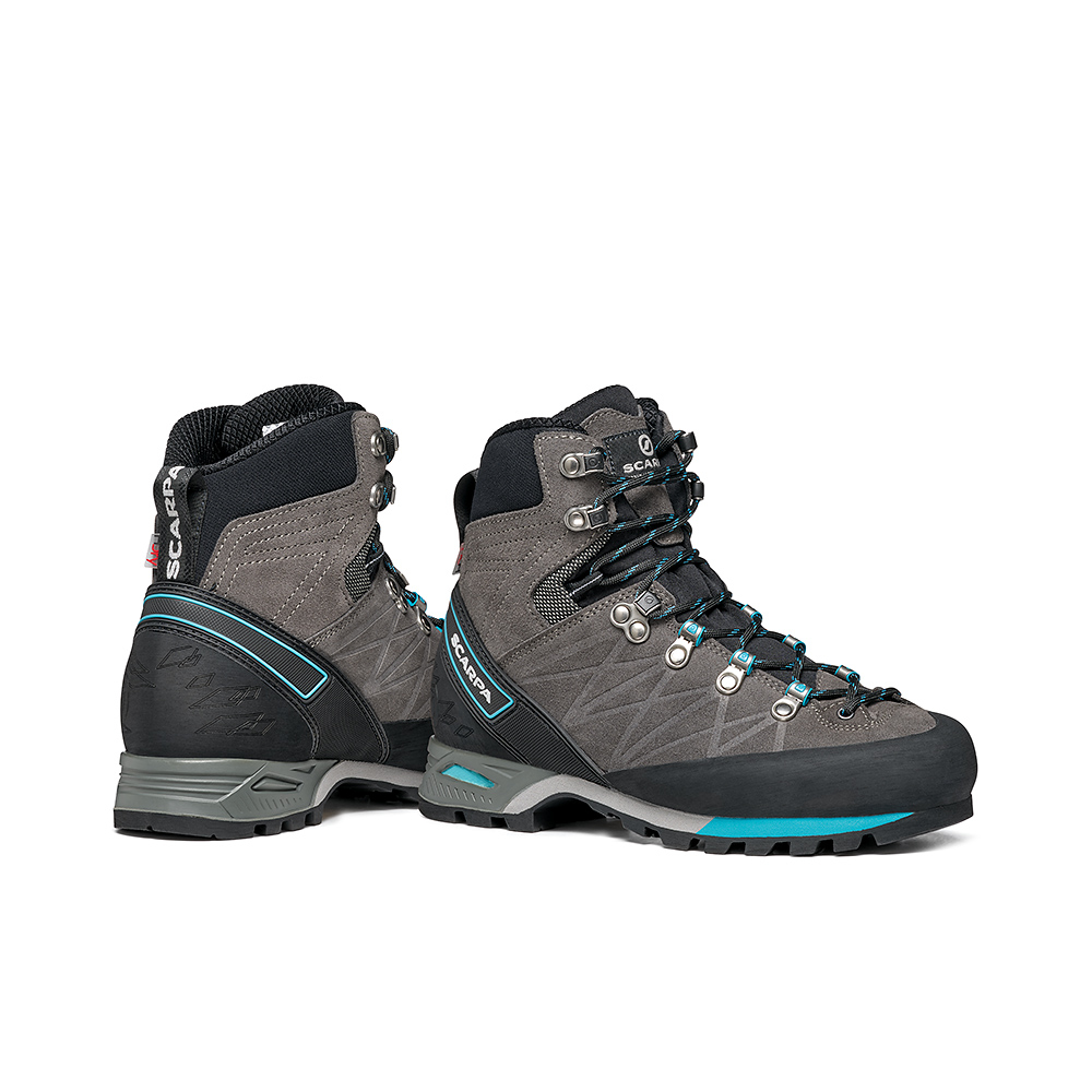 MARMOLADA PRO HD WOMAN   -   Backpacking boots   -  Shark-Baltic / Last Medium