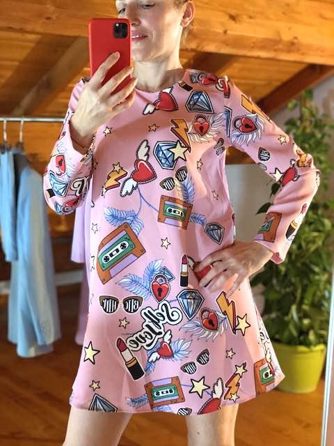 Abito Vicolo Pop Suit Rosa
